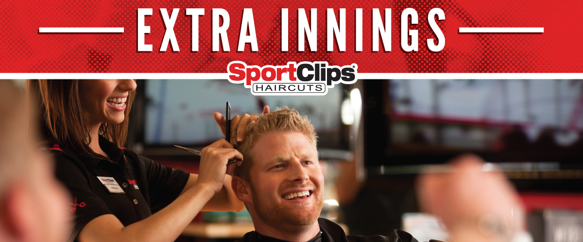 The Sport Clips Haircuts of Forney Extra Innings Offerings