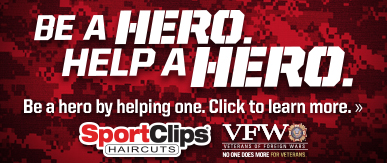 Sport Clips Forney​ Help a Hero Campaign